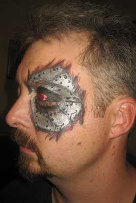 Face Painting - Terminator
